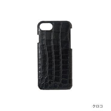 KSKハードケースロゴ iPhone8/7/6s/6(クロコ)