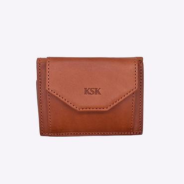 KSKミニ財布(ブラウン)