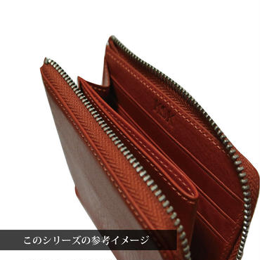 KSK L字ファスナーコインケース(コバルト/レッド/キャメル)
