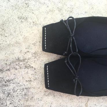 【受注商品】square  stitch ballet shoes(9月13日18時まで受注可能)