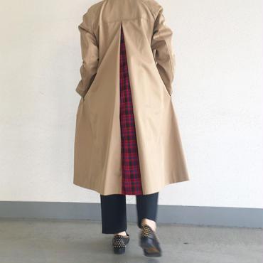 a line twil coat (beige)