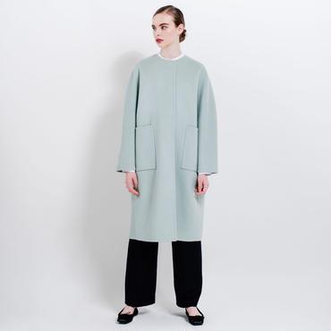 no color cocoon coat (mint)
