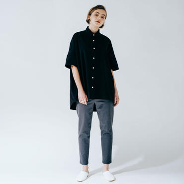 big box shirt (black)