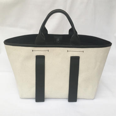 city tote (black×ivory)