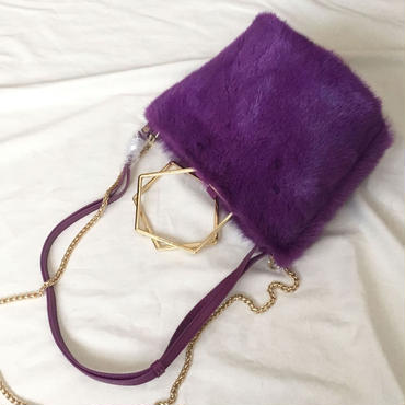 fluffy mink (purple)