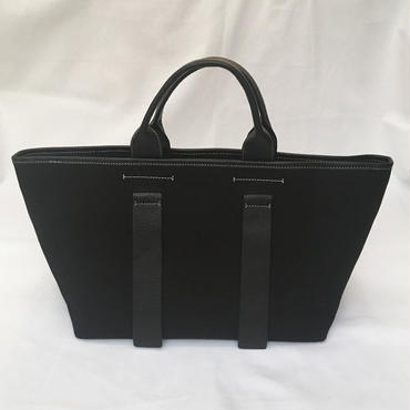 city tote (black×black)