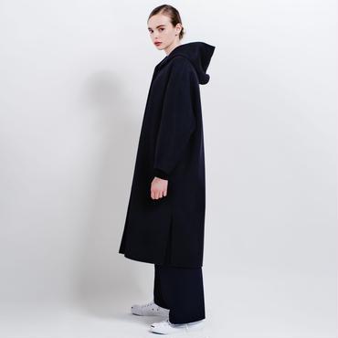 hooded river coat (black)