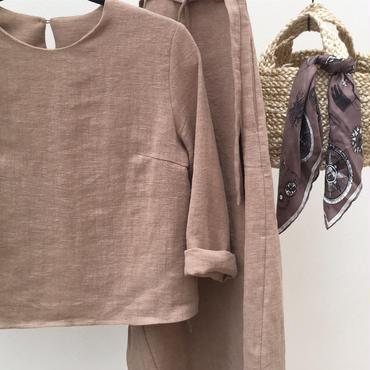 cotton linen set up (beige)
