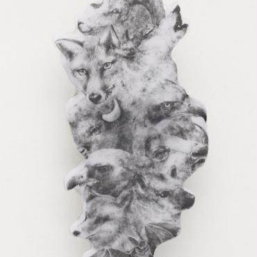 動物のイヤークリップ(左耳用)