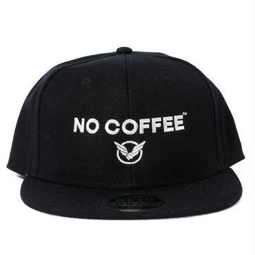 NO COFFEExYOSHIDAROBERTOロゴキャップ(ブラック)