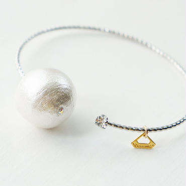 SV big cottonpearl bangle