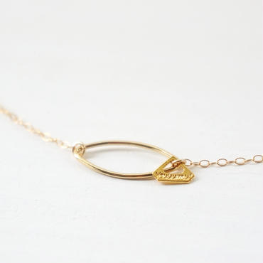 K14gf merquise necklace