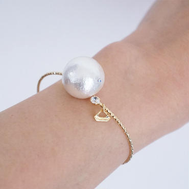 big cottonpearl bangle