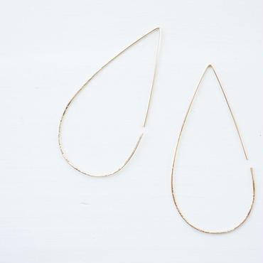 K14gf drop hoop pierce