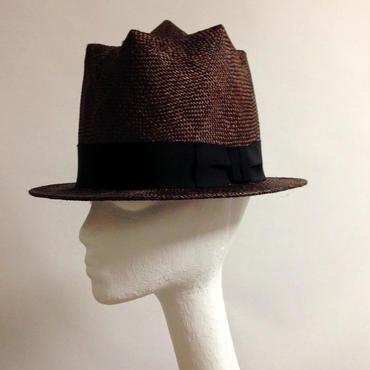 7 SPIKE HAT (焦げ茶)