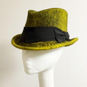 YELLOW FUR HAT