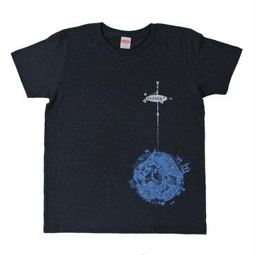 宇宙エレベーターTシャツ レディース