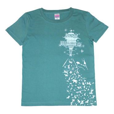 ハッピーアブダクションTシャツ レディース
