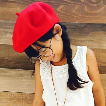キッズベレー帽