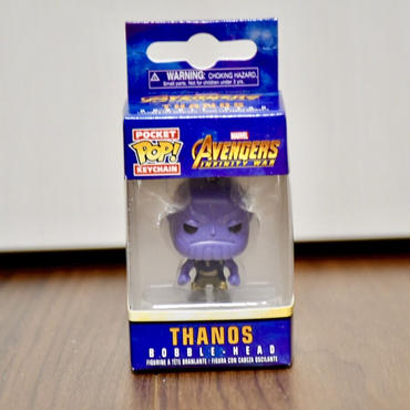 FUNKO POP!  Avengers Infinity War  THANOSミニフィギュアキーホルダー