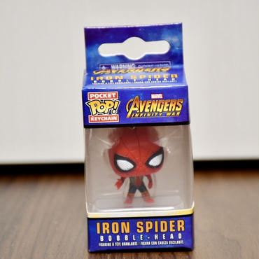 FUNKO POP!  Avengers Infinity War  IRON SPIDERミニフィギュアキーホルダー