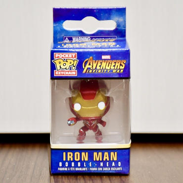 FUNKO POP!  Avengers Infinity War  IRON MAN Mk.50ミニフィギュアキーホルダー