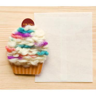 【ZA106】くるくるカップケーキカード