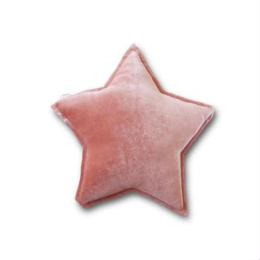 Numero74 ヌメロ74  tar cushion velour スタークッション S ベロア dusty pink