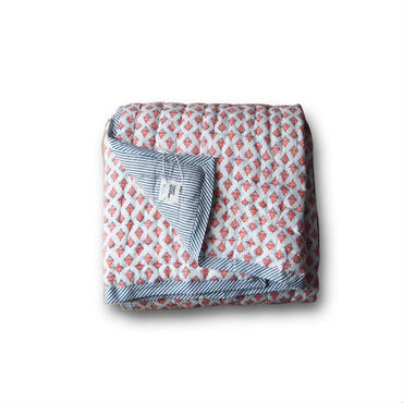 Le petit Lucas プチルカ baby quilt 115x140 Russian bouti