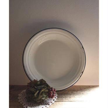 ブロカント Enamel plate ホーロー製 プレート