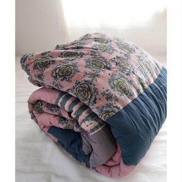 bagaille バガイユ キルト スモールボタン柄 pink 150x220
