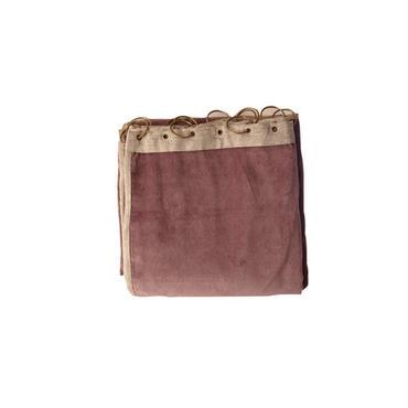 en fil d'Indienne カーテン Velour Lilac 130x280