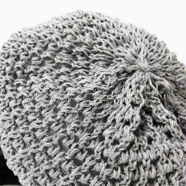 Summer Knit Beret Hat Cap サマー ニット ベレー帽 ニットキャップ