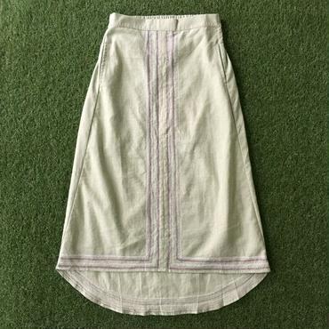 BAD・裾燕尾刺繍スカート(7S15002E)