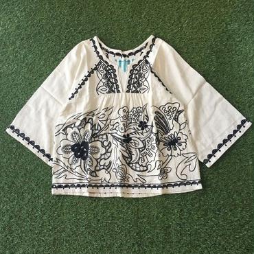 Manic Monday・Embroidery Linen Top(6P62000E)
