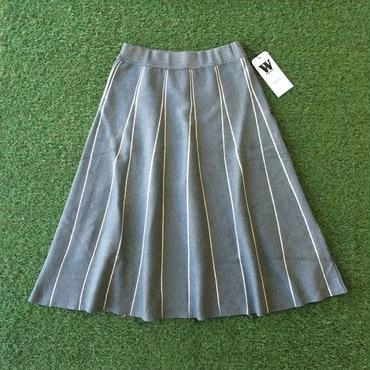 WHOO-AA・ストライプKNITスカート(W6P5001)