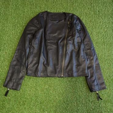 DAZZLE・Leather Jaket(6W36005E)