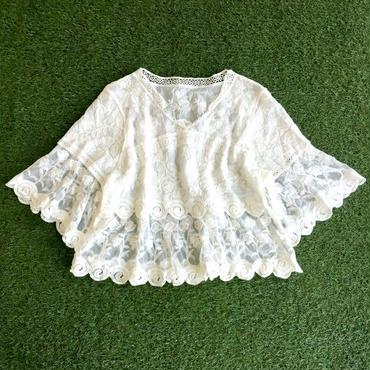 WHOO-AA・Vintage Lace TOP(W7S2023)