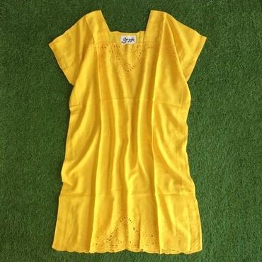 DAZZLE・スクエアネックCutwork Dress(6P33001E)