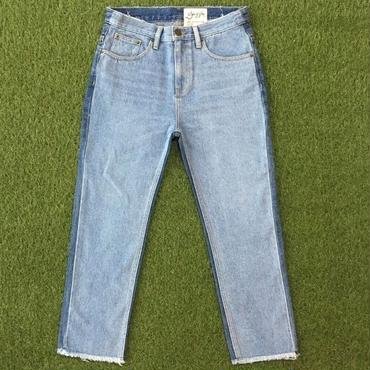 DAZZLE・Different Colors Denim Pants(7S37001G)
