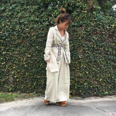 DAZZLE・Linen Jacket(7P36001E)