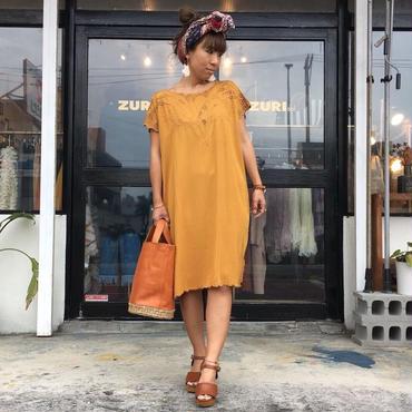 DAZZLE・Vintege Cutwork Dress(7P33001E)