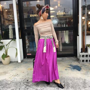 Manic Monday・Shiny Long Skirt(7P65001E)