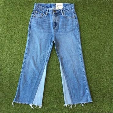 DAZZLE・Patch Flare Denim Pants(6P37000G)