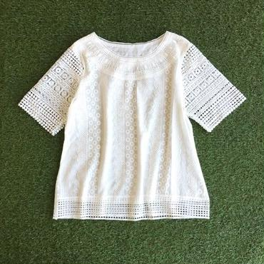 WHOO-AA・Lace line TOP(W7S2024)