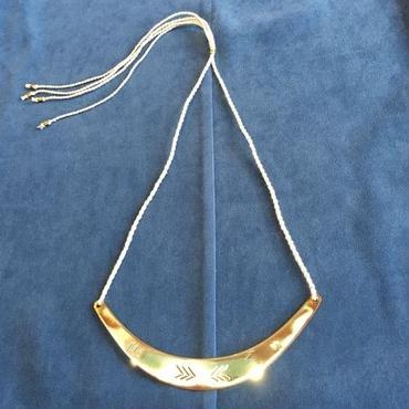 Manic Monday・BrassPlate Necklace(6P69006E)
