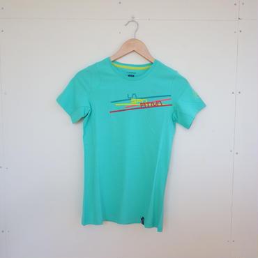 スポルティバ[SPORTIVA]ストライプTシャツ Women's