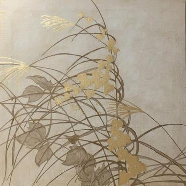 秋草図  1