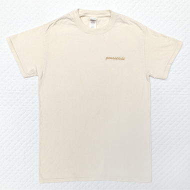 Golden Embroidery Tee (Ivory)