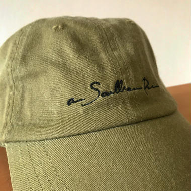 "【Khaki】""New Logo""6panel cap"